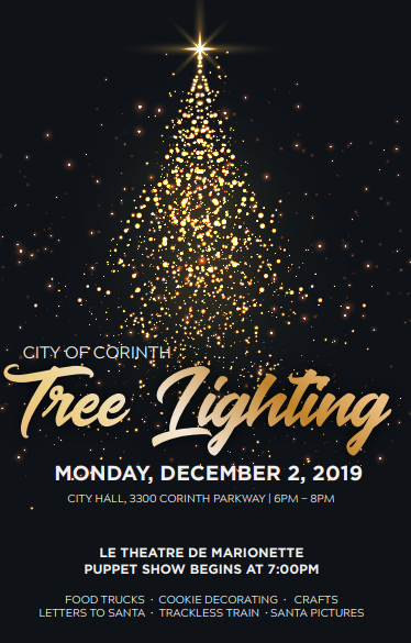 Lake Cities Chamber of Commerce - Corinth Tree Lighting
