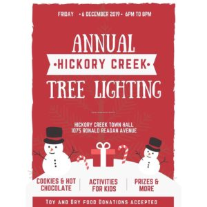 Lake Cities Chamber of Commerce - Annual Hickory Creek Tree Lighting